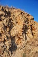 Geologická zajímavost na severu Lounska.