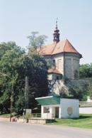 Kostel svatého Jakuba z roku 1724.