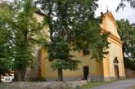 Kostel svaté Kateřiny.
