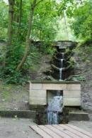 Voda přitéká od Boženiny studánky k Oldřichovu dubu.