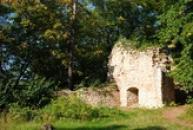 Typický pohled na hradní věž..