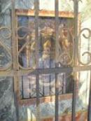 Obraz na kapličce od Jos. Bartla.
