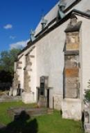 Zdejší kostel sv. Jakuba Většího.