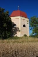 Raně barokní kaple Navštívení Panny Marie.