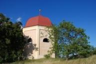 Pohled na kapli Navštívení Panny Marie.