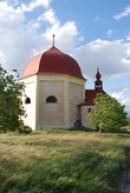 Zdejší kaple Navštívení Panny Marie.