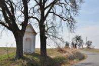 Kaplička u silnice na Panenský Týnec.