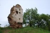 Ruiny sídla syna hrdiny z Dalimilovy kroniky.