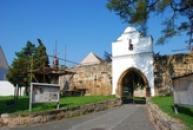 Vstupní brána do zámku.