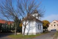 Kaple Nejsvětější Trojice z poloviny 19. století.