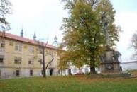 Areál kláštera v Doksanech.