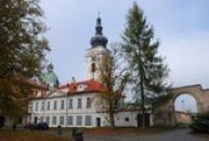 Areál kláštera.