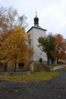 Gotický kostel sv. Matouše.