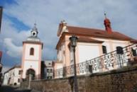 Kostel svatého Vojtěcha.