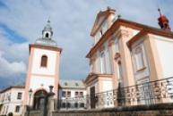 Kostel. sv. Vojtěcha.