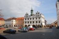 Městské muzeum na mírovém náměstí.