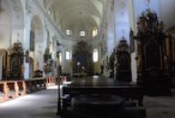 Interiér Katedrály sv. Štěpána.