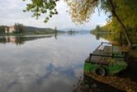Na břehu řeky Labe...