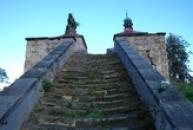 Poslední úsek schodiště.
