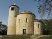 Románská rotunda svatého Jiří.