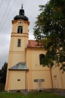 Kostel svatého Mikuláše z roku 1710.