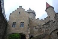 Pohled z nádvoří hradu.