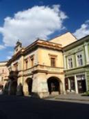 Dům na rohu Svatováclavské ulice.