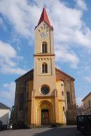 Kostel svatého Martina ve Mšeně.