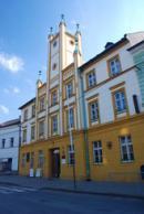 Budova radnice ve Mšeně.