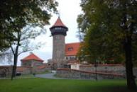 Pohled z hradního parku.
