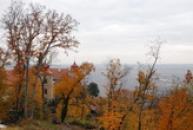 Podzimní pohled na zámek.