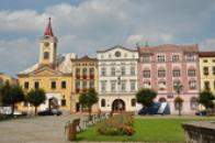 Stará radnice na Mírovém náměstí.