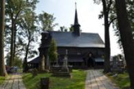 Nejstarší dochovaný dřevěný kostel u nás.