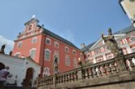 Západní část kláštera.