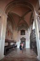 Vstup do kostela sv. Vojtěcha.