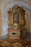 Záběr z interiérů kláštera.