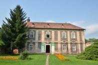 Dům v klášterní zahradě.