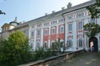Klášter benediktinů sv. Vojtěcha.