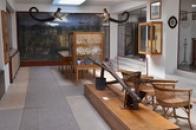 Expozice zdejšího muzea.