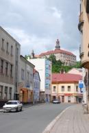 Pohled na zámek z centra města.