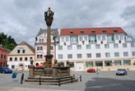 Zdejší Masarykovo náměstí.