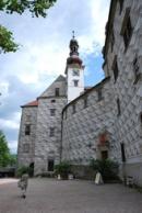 Malebná zákoutí zdejšího zámku.