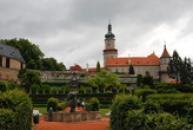 Pohled ze zámecké zahrady.