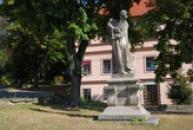 Pomník mistra Jana Husa z roku 1923.