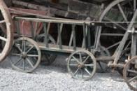 Historický ruční vozík.
