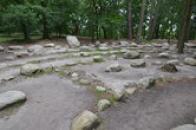 Kamenný labyrint.