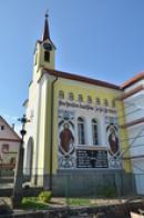 Kaple sv. Václava s freskami.