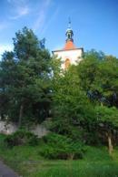 Věž kostela sv. Havla.