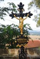 Detail hrobu Jana Cimbury.