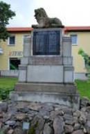 Památka padlým v 1. světové válce.